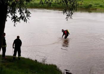 Vermisstensuche in der Weser
