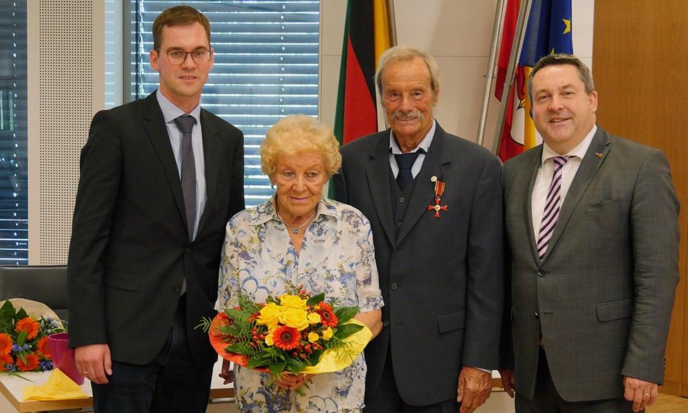 Bundesverdienstkreuz Dieter Denecke