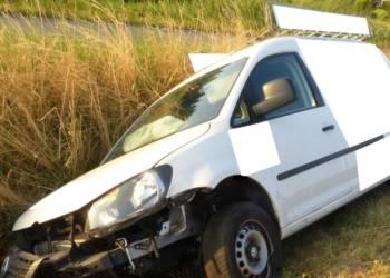 Unfallstelle an der Bergkirchener Straße in Hille