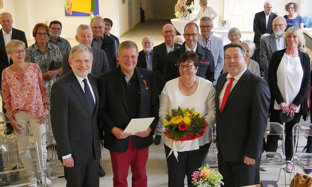 Bundesverdienstkreuz Udo Golabeck