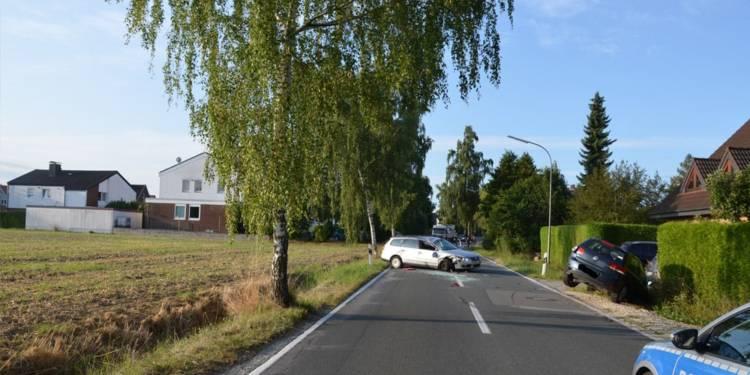 Unfallstelle an der Stedefreuder Straße in Herford
