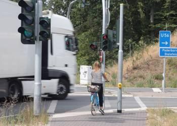 Kreuzung Bielefelder Straße / Auffahrt A33