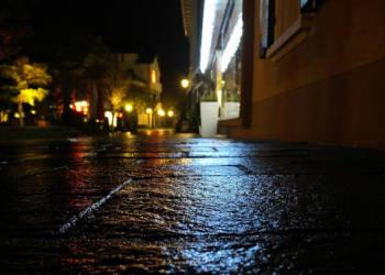 Straße, Nacht