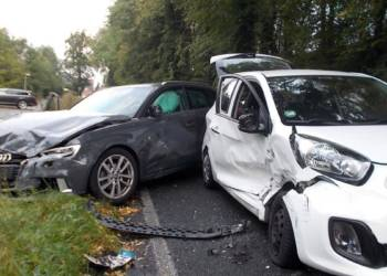Unfall Hüllhorst 28.08.2019