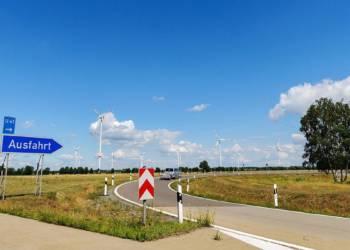 Ausfahrt, Autobahn