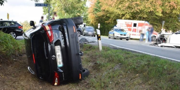 Autounfall Bünde 25.09.2019