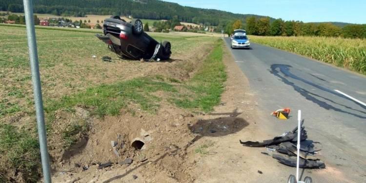 Autounfall Hüllhorst 22.09.2019