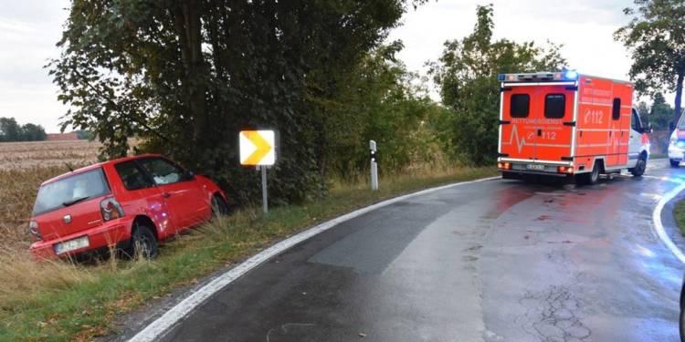 Autounfall Kirchlengern 08.09.2019