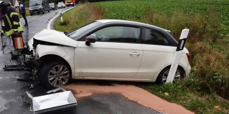 Autounfall Kirchlengern 30.09.2019