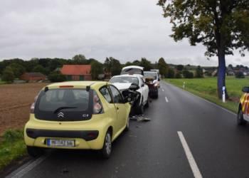 Autounfall Löhne 23.09.2019