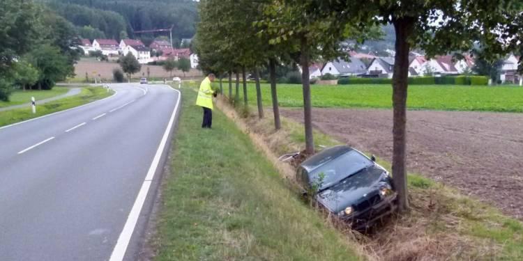 Autounfall Nettelstedt 08.09.2019