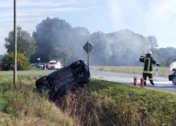 Autounfall Stemwede 11.09.2019