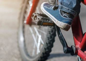 Fahrrad, Junge