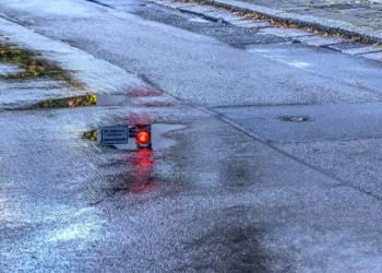 Regen, Straße