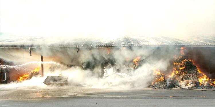 Scheunenbrand Rahden 06.09.2019