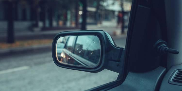 Seitenspiegel, Auto