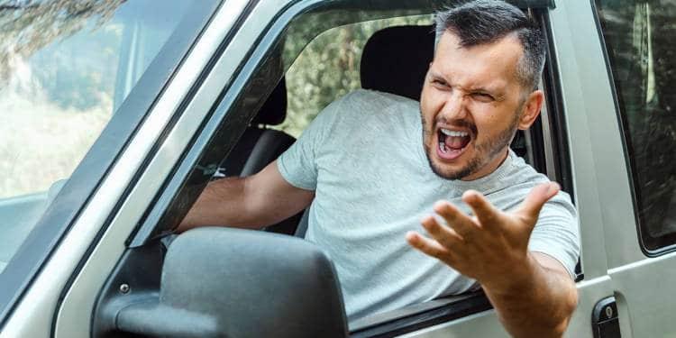 Autofahrer, aggressiv