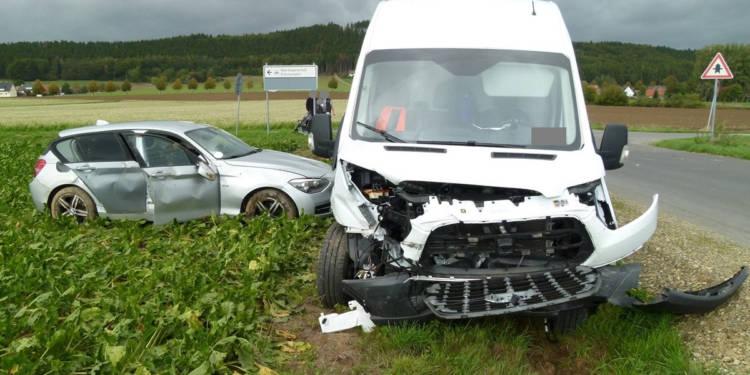 Autounfall Hüllhorst 30.09.2019