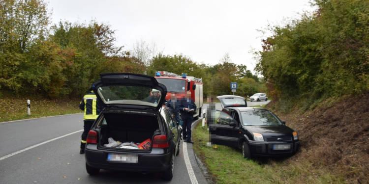Autounfall Kirchlengern 16.10.2019
