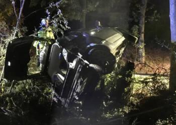 Autounfall Lage 18.10.2019