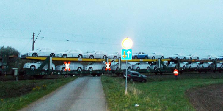 Autounfall Petershagen 19.10.2019