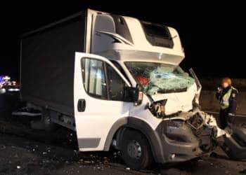 LKW Unfall Porta Westfalica 31.10.2019