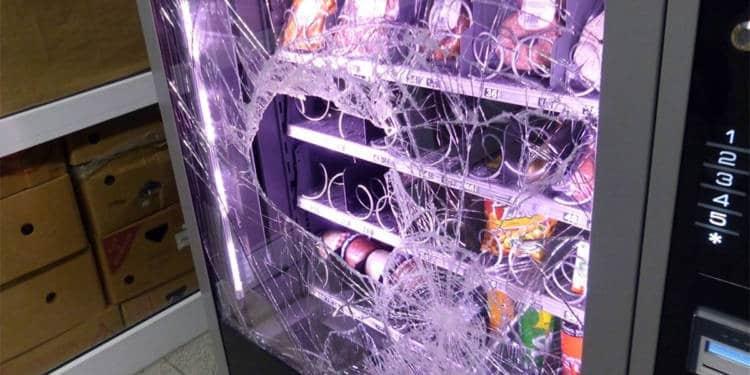Vandalismus Porta Westfalica 26.10.2019