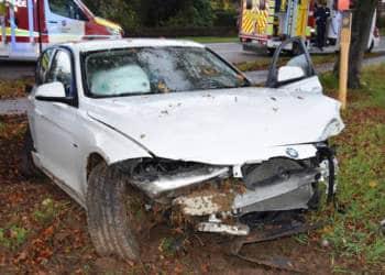 Autounfall Bünde 02.11.2019