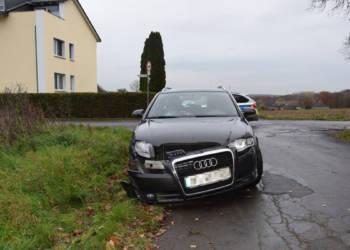 Autounfall Enger 26.11.2019