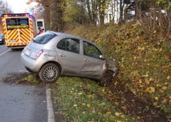 Autounfall Herford 24.11.2019