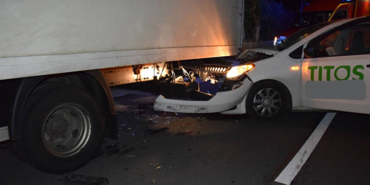 Autounfall Löhne 14.11.2019