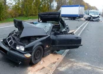 Autounfall Porta Westfalica 20.11.2019