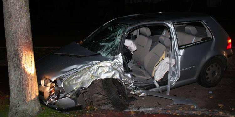 Autounfall Rahden 12.11.2019
