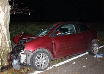 Autounfall Stemwede 22.11.2019