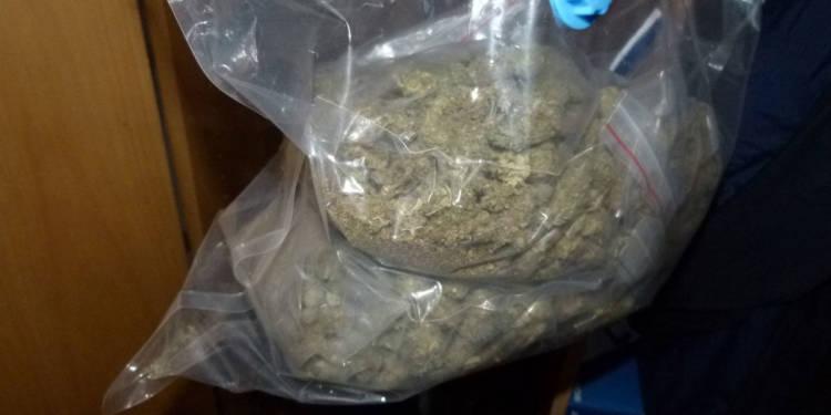Sichergestelltes Marihuana