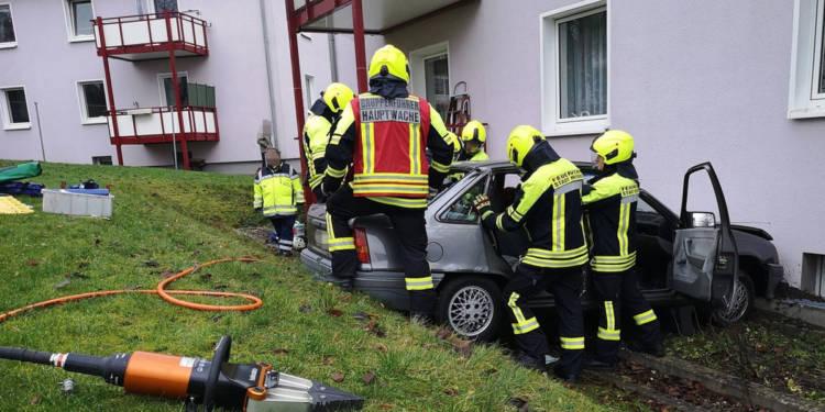 Autounfall Herford 12.12.2019