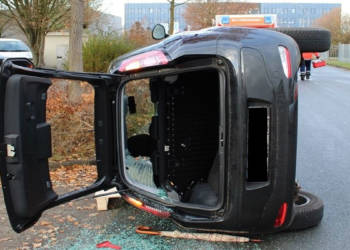 Autounfall Rahden 03.12.2019