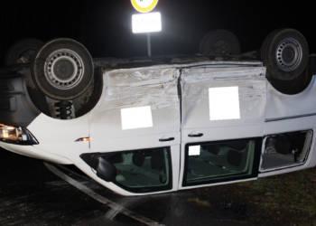 Autounfall Rahden 18.12.2019