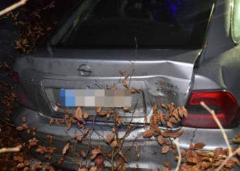 Autounfall Spenge 23.12.2019