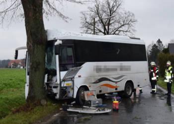 Busunfall Löhne 11.12.2019
