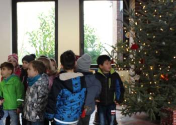 Detmold, Weihnachtsbaum Schmücken