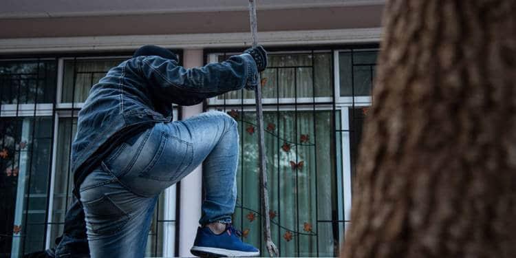 Einbruch Balkon