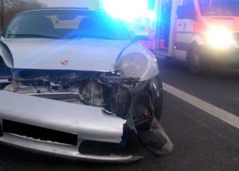 Autounfall Minden 19.01.2020