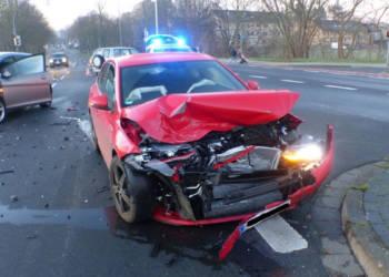 Autounfall Minden 21.01.2020