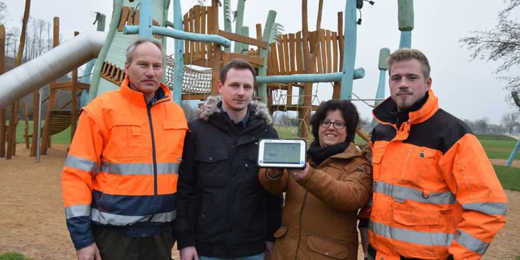 Digitale Spielplatzkontrollen