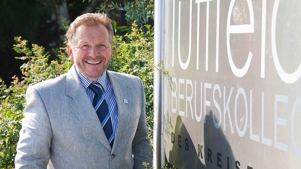 Schulleiter Manfred Kreisel