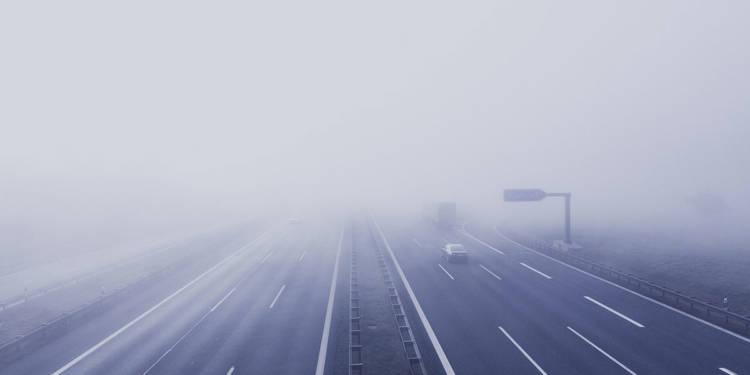 Nebel Autobahn