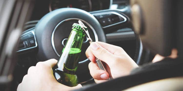 Alkohol, Auto
