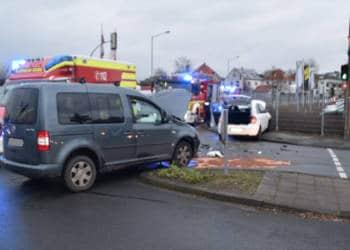 Autounfall Bünde 20.02.2020