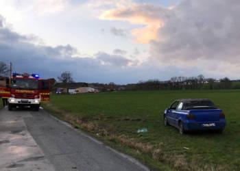 Autounfall Detmold 17.02.2020